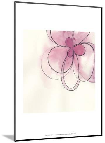 Floral Gesture I-June Vess-Mounted Art Print