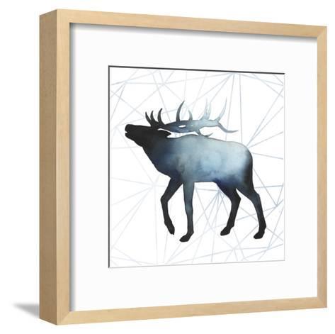 Animal Silhouettes VI-Grace Popp-Framed Art Print