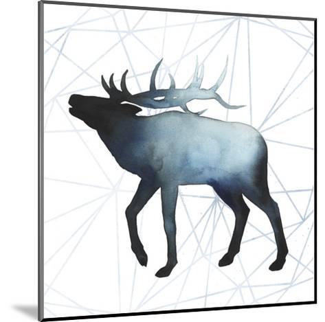 Animal Silhouettes VI-Grace Popp-Mounted Art Print