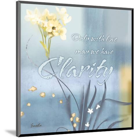 Blue Floral Inspiration II-Evelia Designs-Mounted Art Print