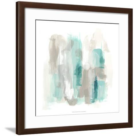 Coastal Fog II-June Vess-Framed Art Print