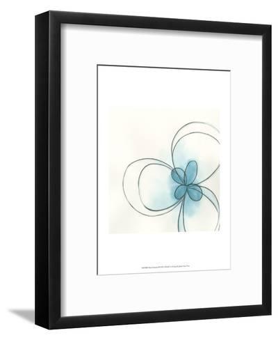 Floral Gesture II-June Vess-Framed Art Print