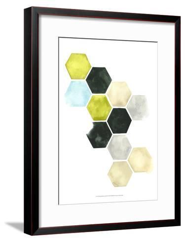 Hazed Honeycomb II-Grace Popp-Framed Art Print