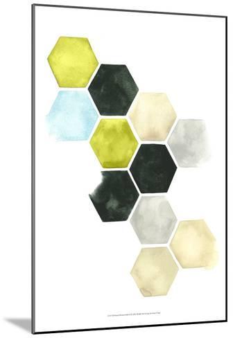 Hazed Honeycomb II-Grace Popp-Mounted Art Print