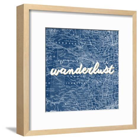 Map Words VII-Studio W-Framed Art Print