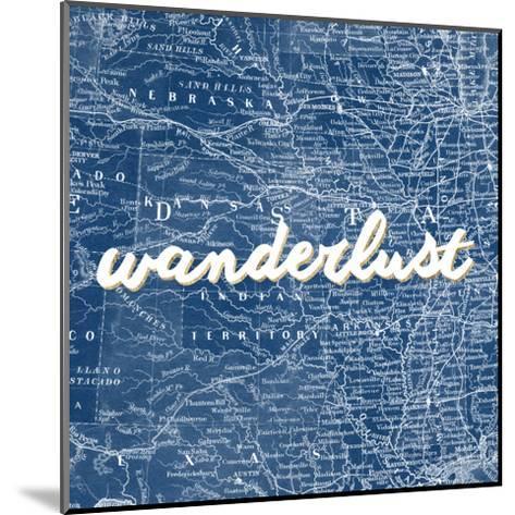 Map Words VII-Studio W-Mounted Art Print