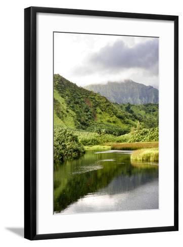 Coastal Marsh Triptych I-Danny Head-Framed Art Print