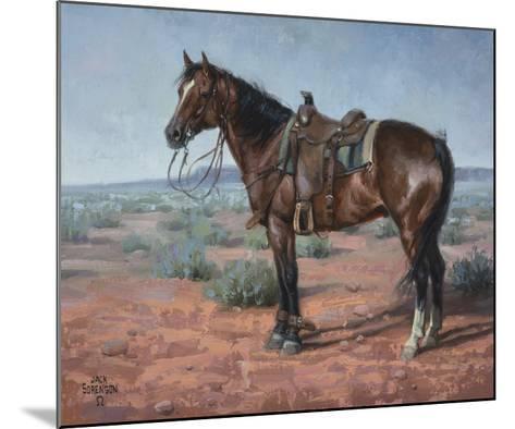 Ready & Waiting-Jack Sorenson-Mounted Art Print