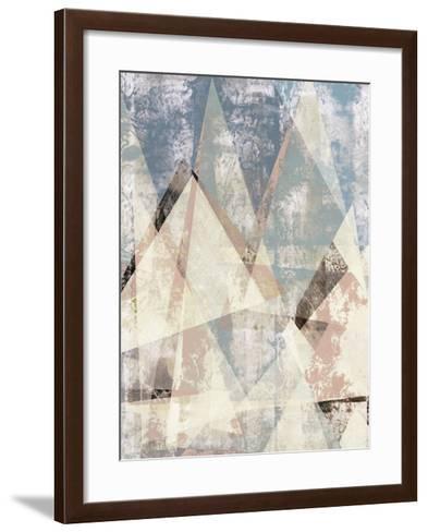 Color Juxtapose I-Jennifer Goldberger-Framed Art Print