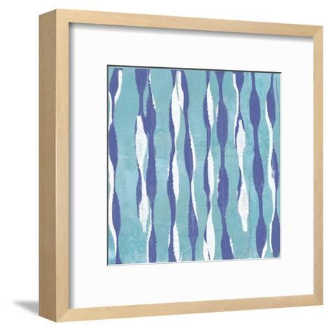 Pattern Waves I-Jennifer Goldberger-Framed Art Print