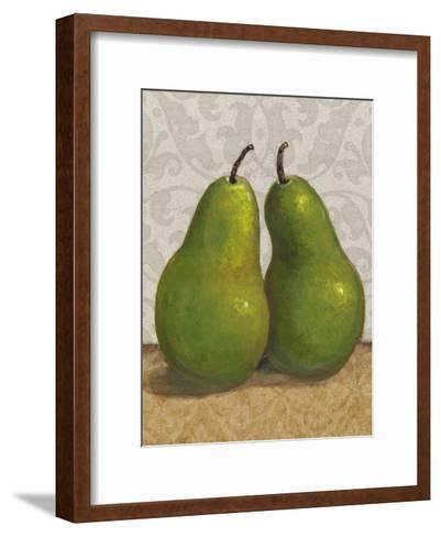 Pear Duo I-Tim OToole-Framed Art Print