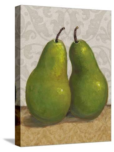 Pear Duo I-Tim OToole-Stretched Canvas Print