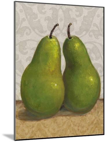 Pear Duo I-Tim OToole-Mounted Art Print