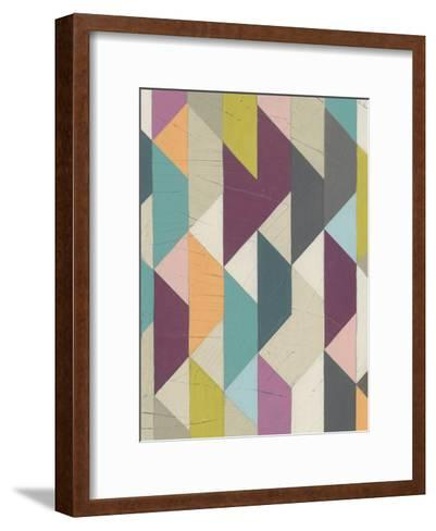 Confetti Prism V-June Vess-Framed Art Print