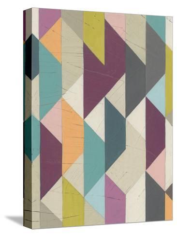 Confetti Prism V-June Vess-Stretched Canvas Print