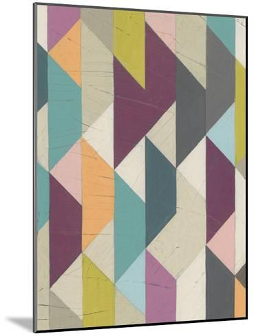 Confetti Prism V-June Vess-Mounted Art Print