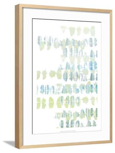 Connect the Dashes I-Jennifer Goldberger-Framed Art Print