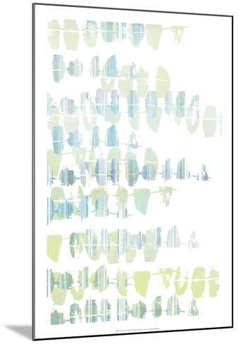 Connect the Dashes II-Jennifer Goldberger-Mounted Art Print