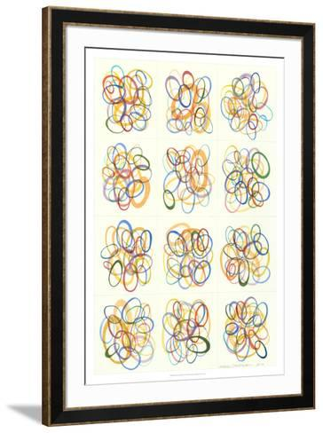 Mid Century Exploration IV-Nikki Galapon-Framed Art Print