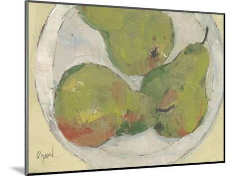 Plate with Pear-Samuel Dixon-Mounted Art Print