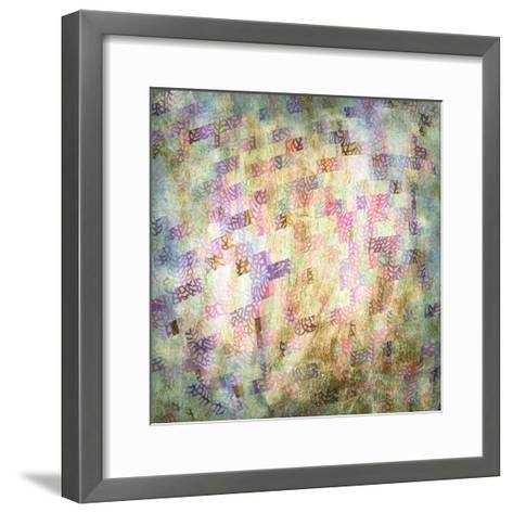 Coral Party III-Studio W-Framed Art Print