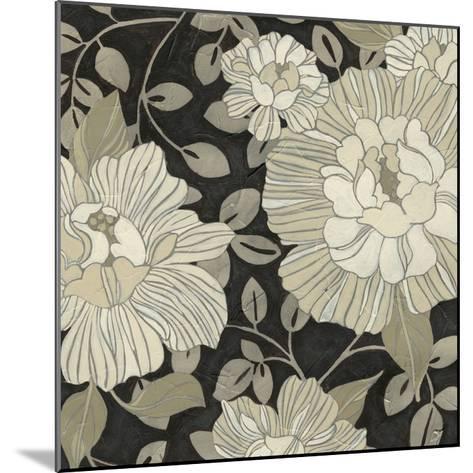 Garden Noir I-June Vess-Mounted Giclee Print