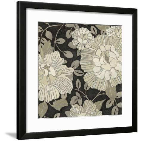 Garden Noir I-June Vess-Framed Art Print