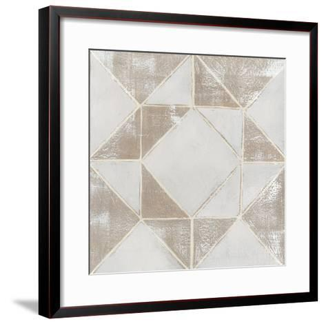Geometric Veil I-Grace Popp-Framed Art Print