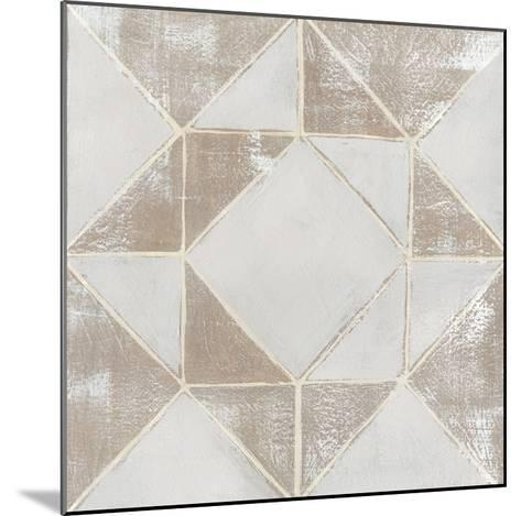 Geometric Veil I-Grace Popp-Mounted Art Print