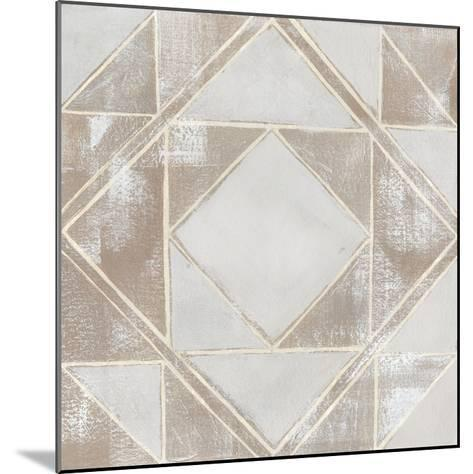 Geometric Veil II-Grace Popp-Mounted Art Print