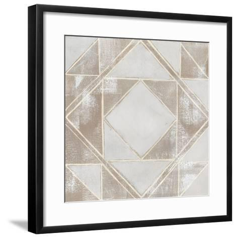 Geometric Veil II-Grace Popp-Framed Art Print
