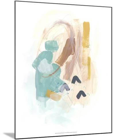 Division & Direction IV-June Vess-Mounted Art Print