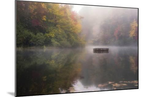 Mist on the Lake-Danny Head-Mounted Giclee Print