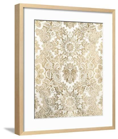 Baroque Tapestry in Gold I-Vision Studio-Framed Art Print