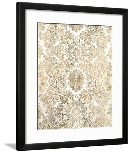 Baroque Tapestry in Gold I-Vision Studio-Framed Art Print