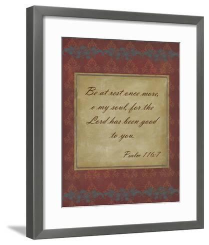 More Than Words III-Studio W-Framed Art Print