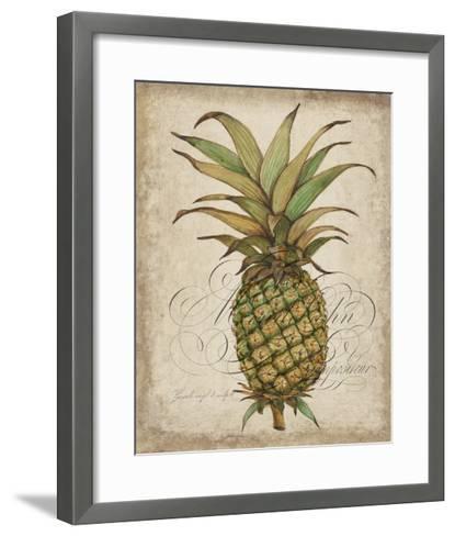 Pineapple Study I-Tim OToole-Framed Art Print