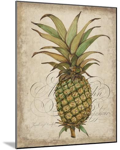 Pineapple Study I-Tim OToole-Mounted Art Print