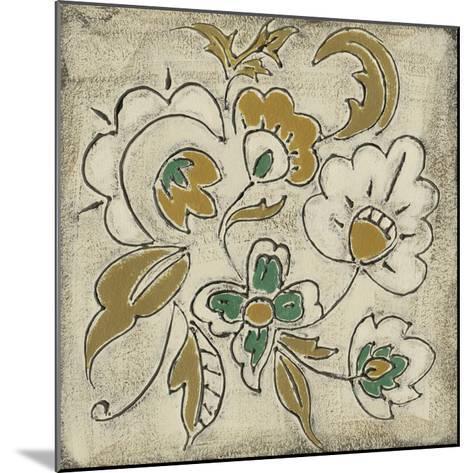 Earthenware Floral III-Chariklia Zarris-Mounted Giclee Print