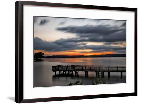Lake Sunset-Danny Head-Framed Art Print