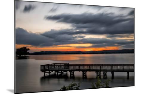 Lake Sunset-Danny Head-Mounted Giclee Print