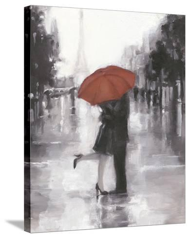 Caught in the Rain-Ethan Harper-Stretched Canvas Print