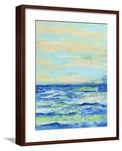 Emily's Waters II-Olivia Brewington-Framed Art Print