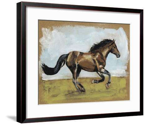 Equestrian Studies I-Naomi McCavitt-Framed Art Print