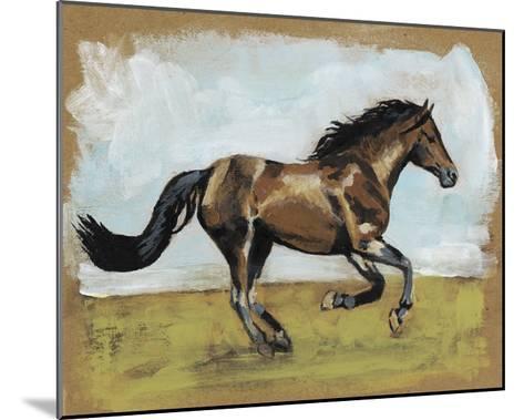 Equestrian Studies I-Naomi McCavitt-Mounted Giclee Print