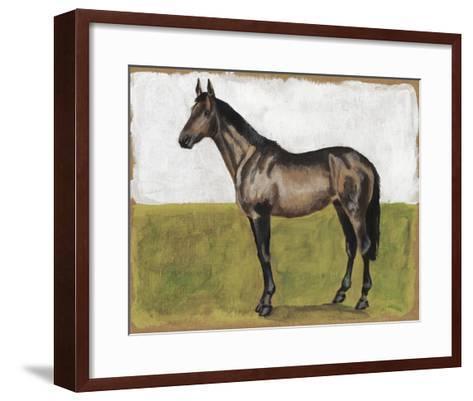 Equestrian Studies IV-Naomi McCavitt-Framed Art Print