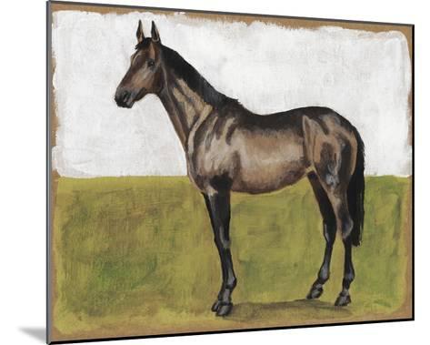 Equestrian Studies IV-Naomi McCavitt-Mounted Giclee Print