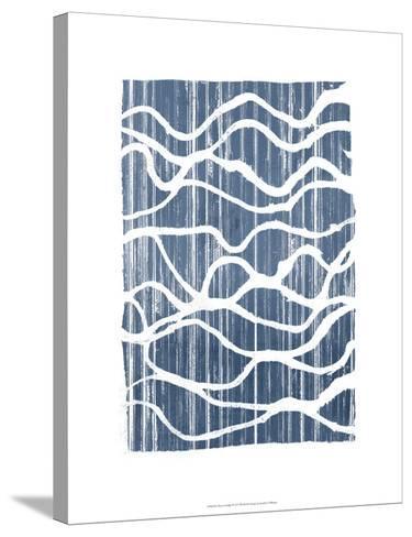 Exverse Indigo-Jennifer Goldberger-Stretched Canvas Print