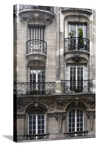 Balcon Parisien I-Tony Koukos-Stretched Canvas Print