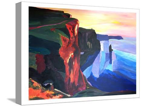Moher-M Bleichner-Stretched Canvas Print